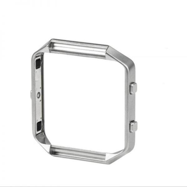 RVS vervangings frame cover protector voor Fitbit Blaze - zilver-015