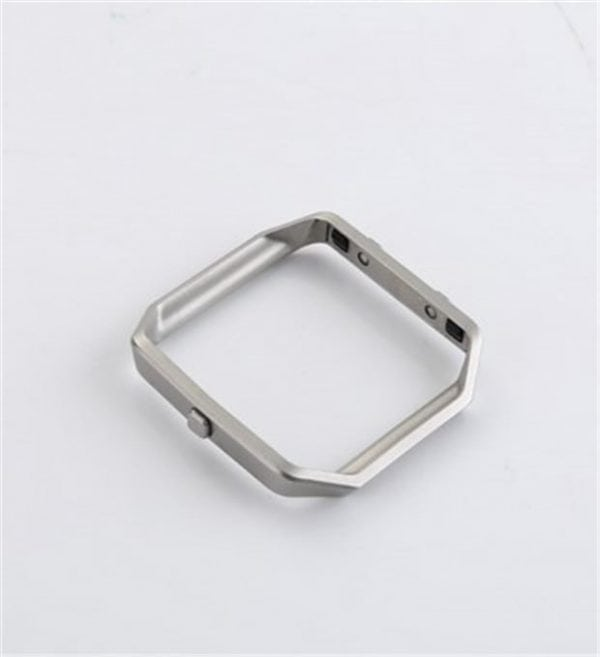 RVS vervangings frame cover protector voor Fitbit Blaze - zilver-016