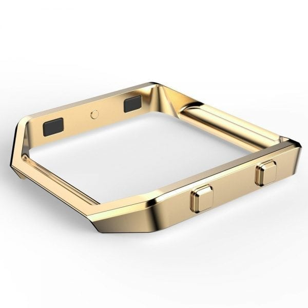 RVS vervangingsframe cover protector voor Fitbit Blaze - goud-001