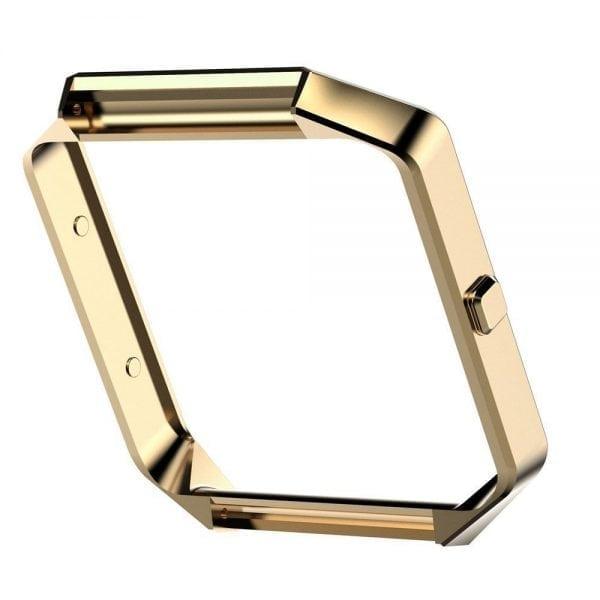 RVS vervangingsframe cover protector voor Fitbit Blaze - goud-005
