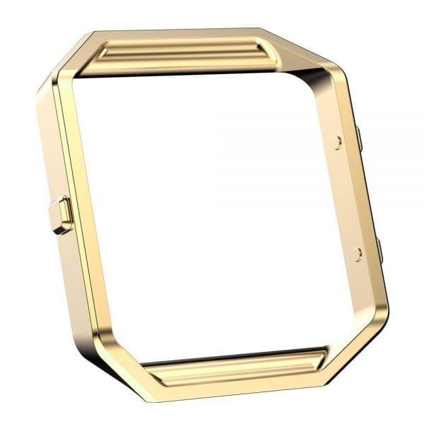 RVS vervangingsframe cover protector voor Fitbit Blaze - goud-007