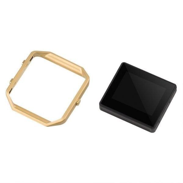 RVS vervangingsframe cover protector voor Fitbit Blaze - goud-008