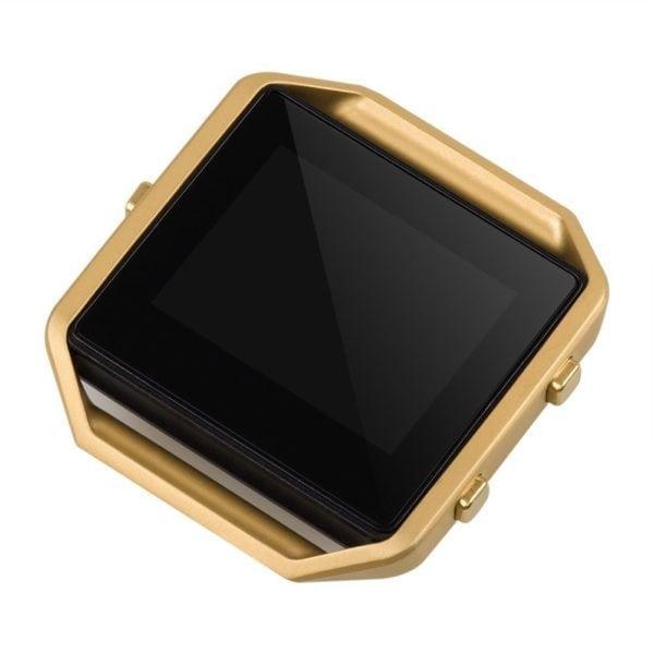 RVS vervangingsframe cover protector voor Fitbit Blaze - goud-010