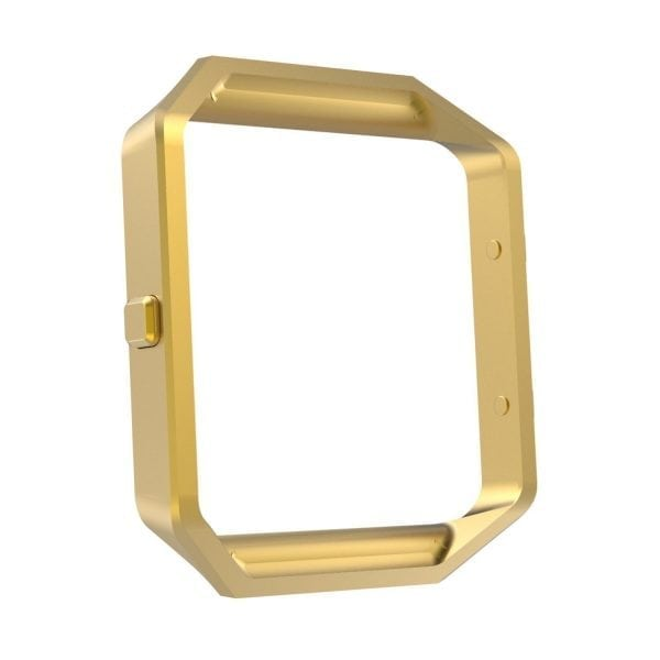 RVS vervangingsframe cover protector voor Fitbit Blaze - goud-011