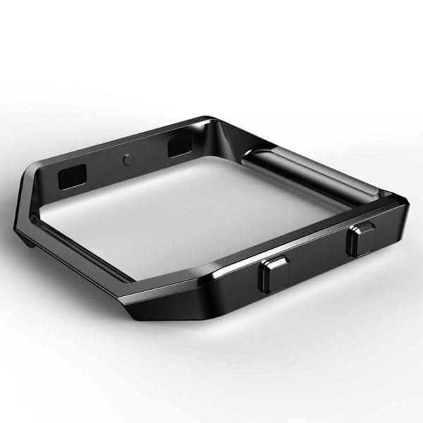 RVS vervangingsframe cover protector voor Fitbit Blaze - zwart-001