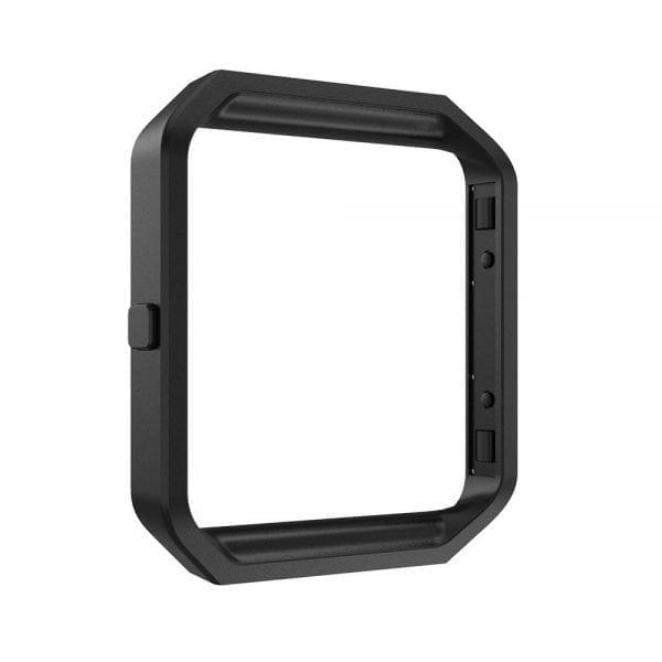 RVS vervangingsframe cover protector voor Fitbit Blaze - zwart-007