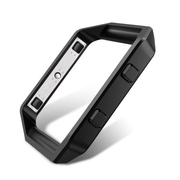 RVS vervangingsframe cover protector voor Fitbit Blaze - zwart-008