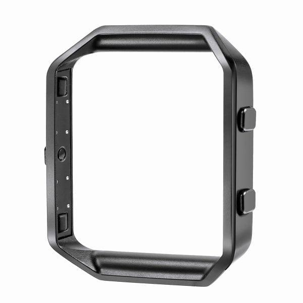 RVS vervangingsframe cover protector voor Fitbit Blaze - zwart-009