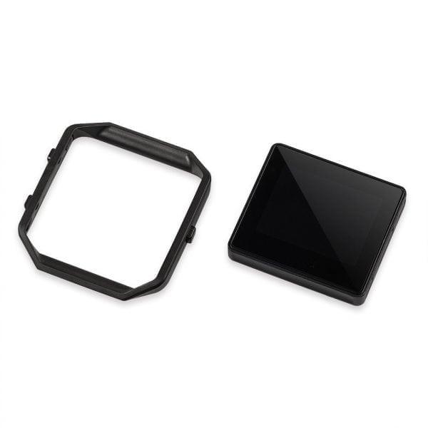 RVS vervangingsframe cover protector voor Fitbit Blaze - zwart-010