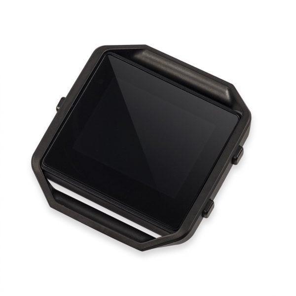 RVS vervangingsframe cover protector voor Fitbit Blaze - zwart-011
