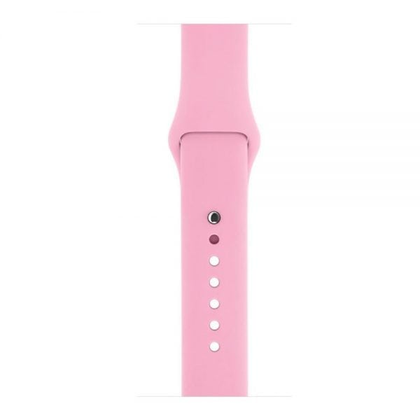 Rubberen sport bandje voor de Apple Watch roze-102