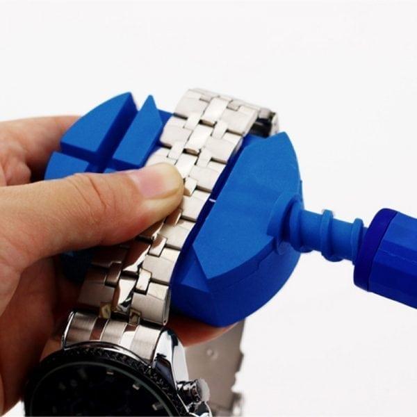 Horloge schakel toolkit horloge band inkorter blauw-002