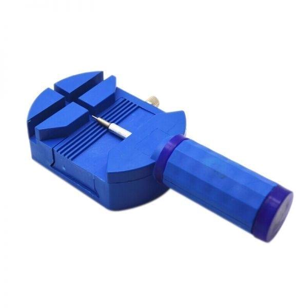 Horloge schakel toolkit horloge band inkorter blauw-004