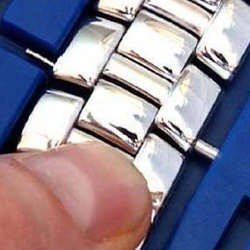 Horloge schakel toolkit horloge band inkorter blauw-009