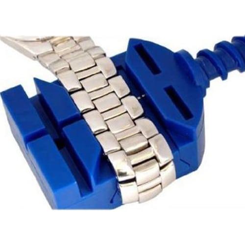 Horloge schakel toolkit horloge band inkorter blauw-010