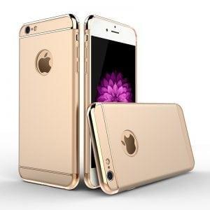 Luxe goude telefoonhoesje voor iPhone 6 / 6s Plus Ultradunne TPU beschermhoes