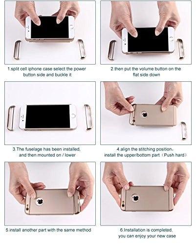 Luxe telefoonhoesje voor iPhone Ultradunne TPU beschermhoes
