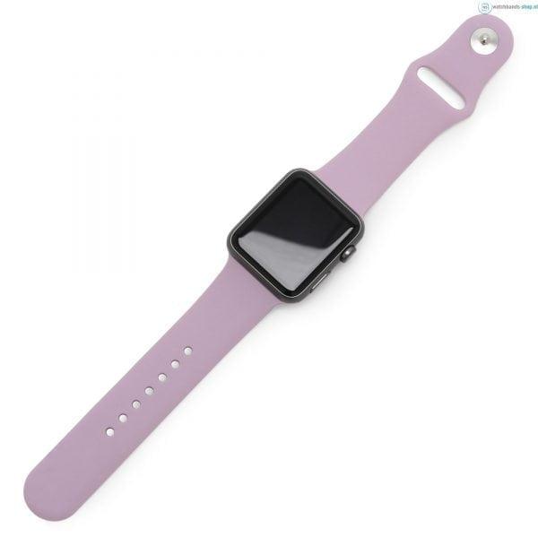 Rubberen sport bandje voor de Apple Watch violet-001