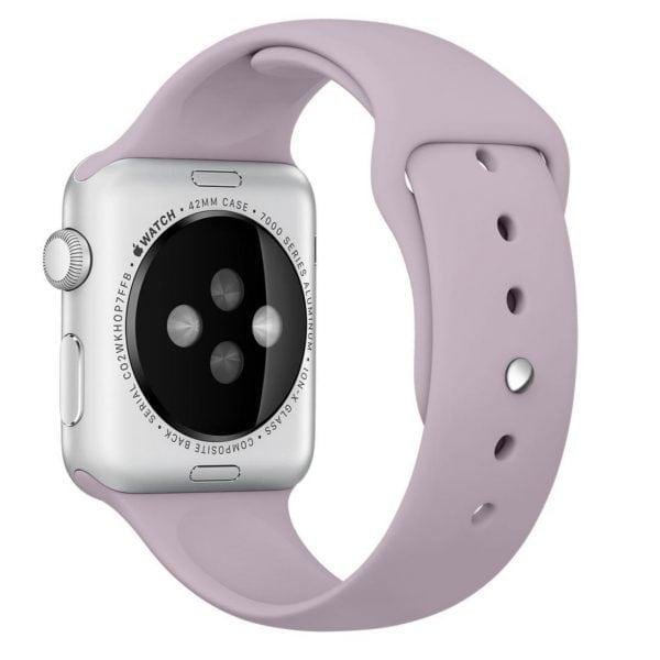 Rubberen sport bandje voor de Apple Watch violet-002