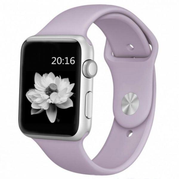 Rubberen sport bandje voor de Apple Watch violet-004