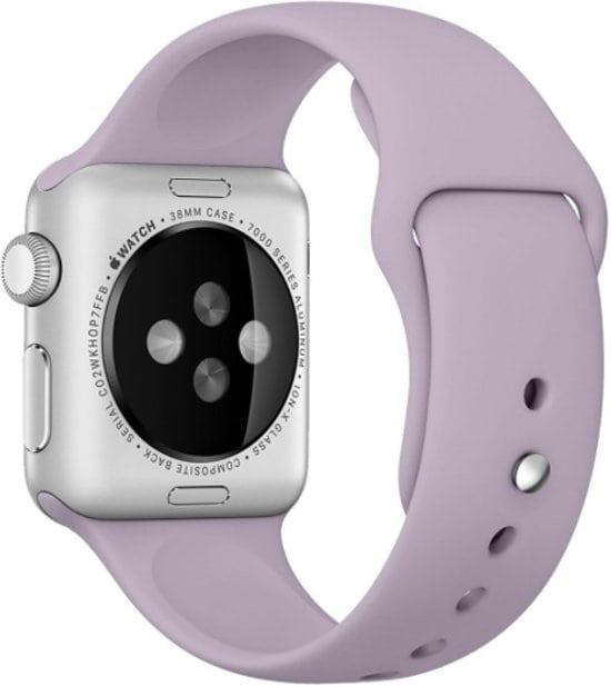 Rubberen sport bandje voor de Apple Watch violet-005