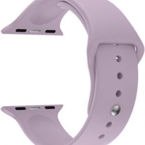 Rubberen sport bandje voor de Apple Watch 38mm - 40mm M/L - violet