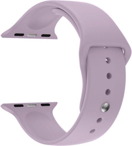 Rubberen sport bandje voor de Apple Watch violet-006