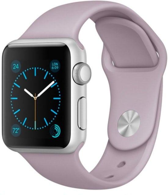 Rubberen sport bandje voor de Apple Watch violet-007