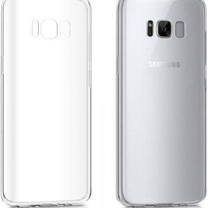 Telefoonhoesje voor Samsung S8 HD Clear Crystal Ultradunne krasbestendig TPU beschermhoes