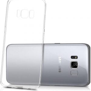 Telefoonhoesje voor Samsung S8 HD Clear Crystal Ultradunne krasbestendig TPU beschermhoes-002