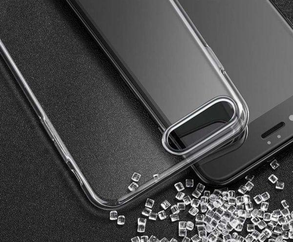 Telefoonhoesje voor iPhone 7 Plus HD Clear Crystal Ultradunne krasbestendig TPU beschermhoes-004