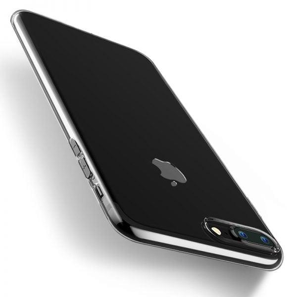 Telefoonhoesje voor iPhone 7 Plus HD Clear Crystal Ultradunne krasbestendig TPU beschermhoes-006