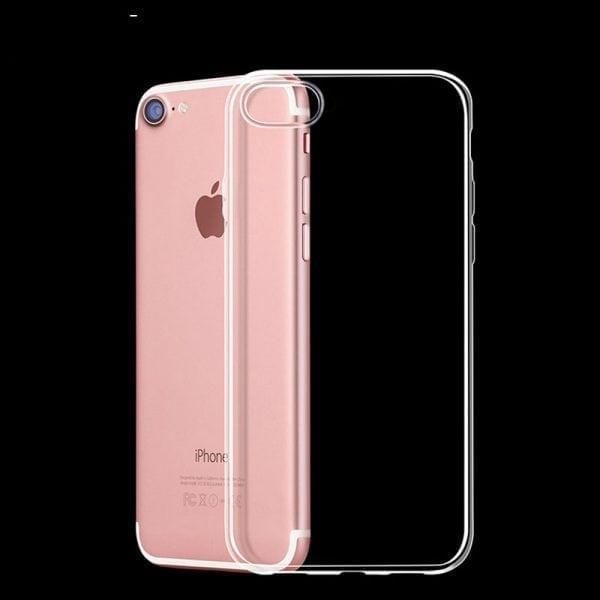 Telefoonhoesje voor iPhone 7 Plus HD Clear Crystal Ultradunne krasbestendig TPU beschermhoes-008