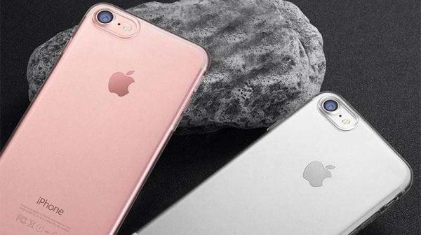 Telefoonhoesje voor iPhone 7 Plus HD Clear Crystal Ultradunne krasbestendig TPU beschermhoes-011