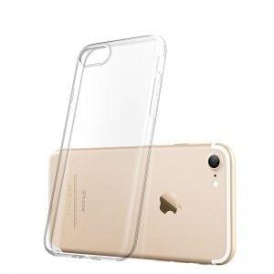 Telefoonhoesje voor iPhone 7 Plus HD Clear Crystal Ultradunne krasbestendig TPU beschermhoes
