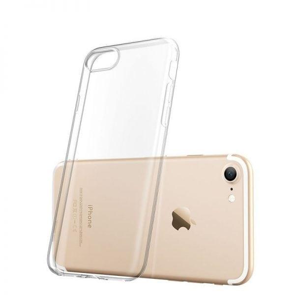 Telefoonhoesje voor iPhone 7 Plus HD Clear Crystal Ultradunne krasbestendig TPU beschermhoes-013