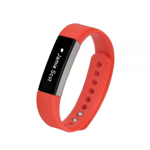 Luxe Siliconen Bandje large voor FitBit Alta – rood_006