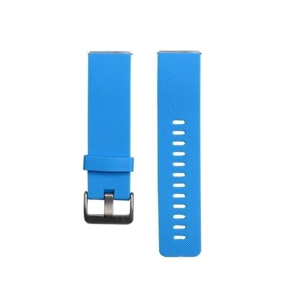 Luxe Siliconen Bandje large voor FitBit Blaze – lichtblauw_001