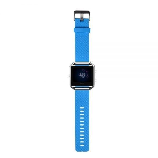 Luxe Siliconen Bandje large voor FitBit Blaze – lichtblauw_011