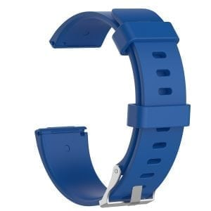 Luxe Siliconen Bandje large voor FitBit Versa – blauw-003