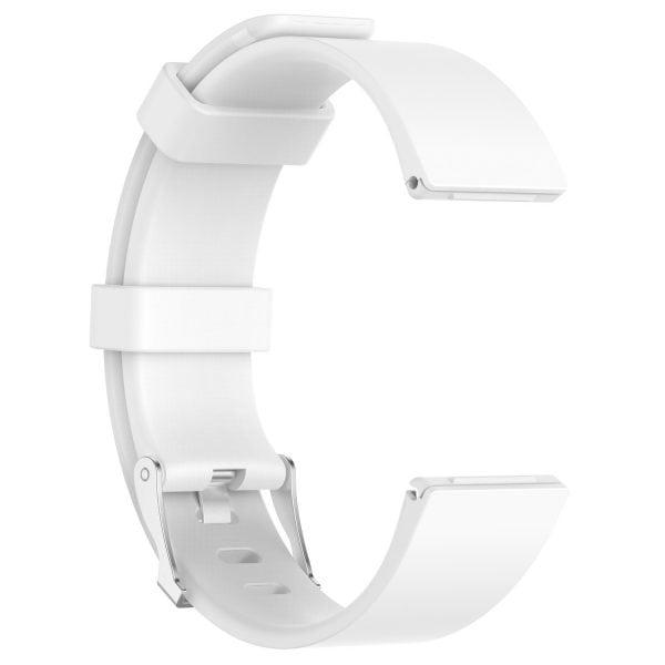 Luxe Siliconen Bandje large voor FitBit Versa – wit-001