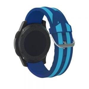 Samsung Gear S3 Duo bandje Voor de Samsung Gear S3 Classic-Blauw lichtblauw-001