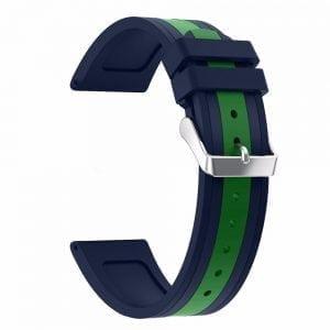 Samsung Gear S3 Duo bandje Voor de Samsung Gear S3 - blauw - groen-004