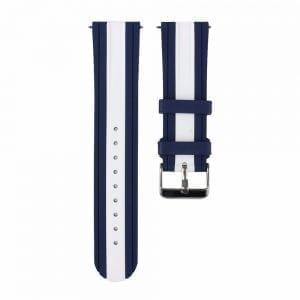 Samsung Gear S3 Duo bandje Voor de Samsung Gear S3 - blauw - wit-002