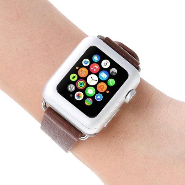 38mm full Cover 3D Tempered Glass Screen Protector For Apple watch iWatch 3 silver edge_008