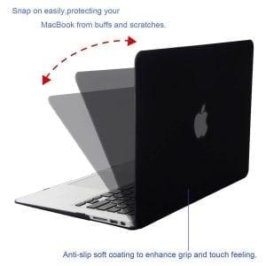 Cover Apple MacBook Air 11 inch - zwart A1465 - A1370 (2012- 2018)_003