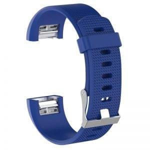 Luxe Siliconen Bandje SMALL voor FitBit Charge 2 – blauw_012