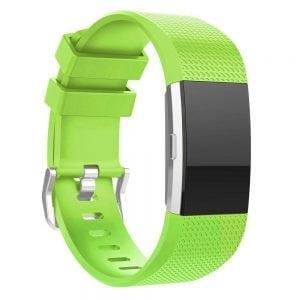 Luxe Siliconen Bandje SMALL voor FitBit Charge 2 – fel groen_004