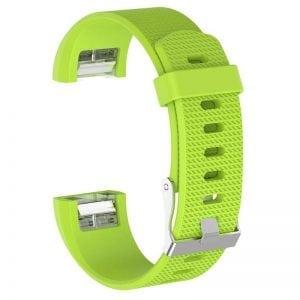 Luxe Siliconen Bandje SMALL voor FitBit Charge 2 – fel groen