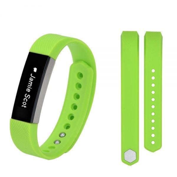 Luxe Siliconen Bandje large voor FitBit Alta – groen_001